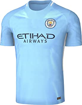 huge selection of 03661 c3921 2017 2018 Manchester City FC Home Football Soccer Jersey New ...