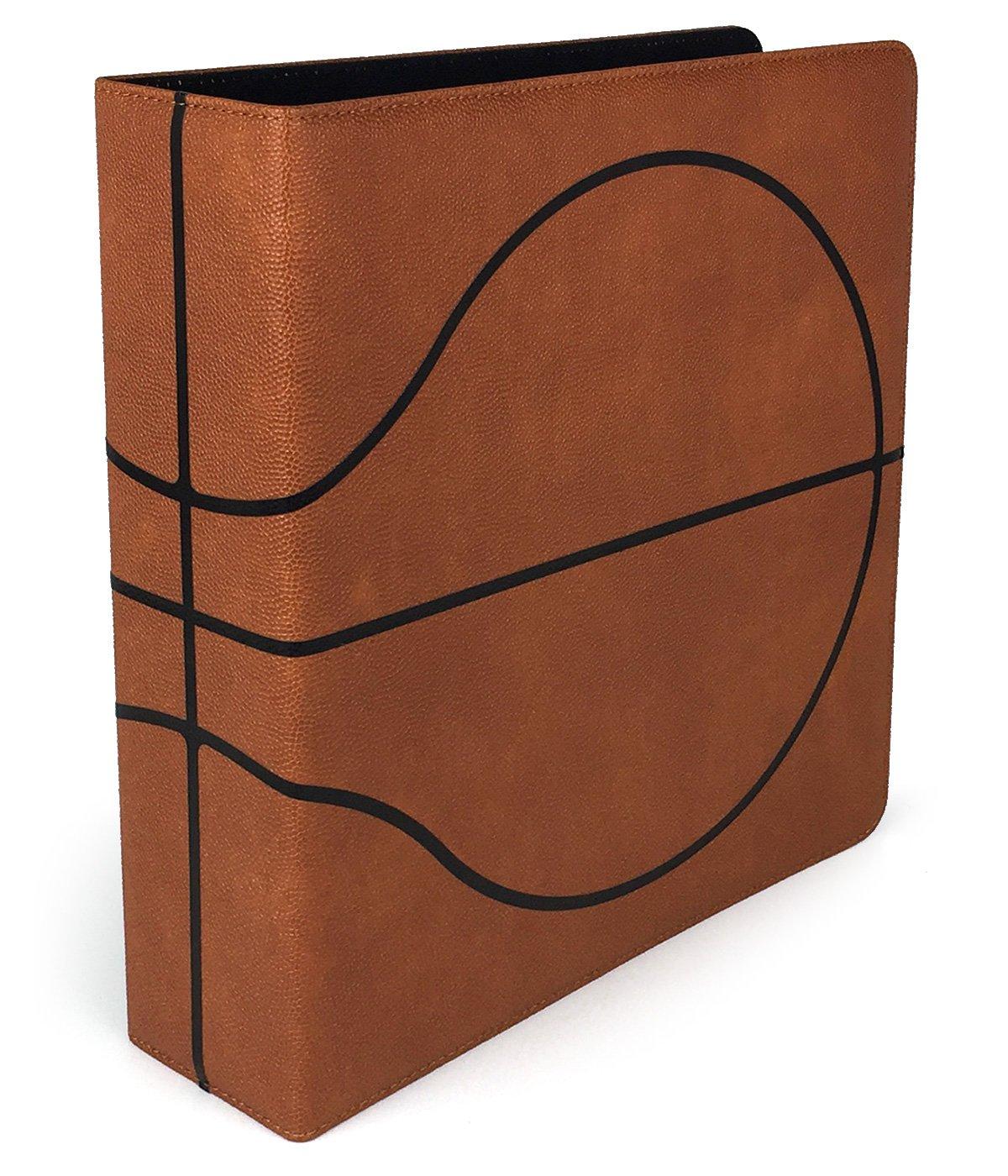 BCW 3'' Premium Album Basketball Collectors Edition