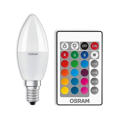 Fernbedienung 8W E27 Farbwechsel Birne-NEU Energie:B LED Glühbirne