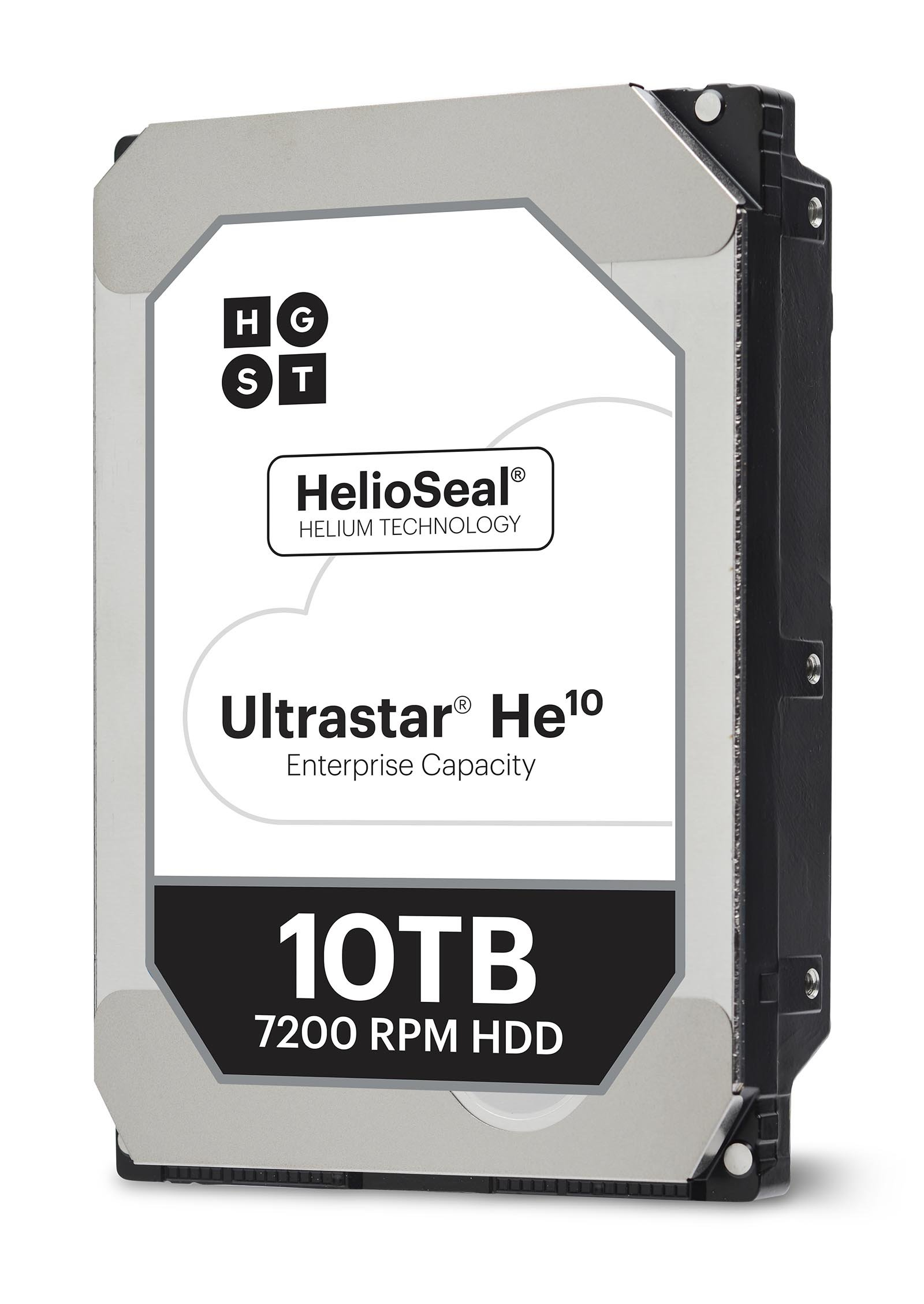 HGST Ultrastar He10 HUH721010ALE604 10TB SATA 6Gb/s 7,200 rpm 256MB Cache 3.5'' Internal Hard Drive
