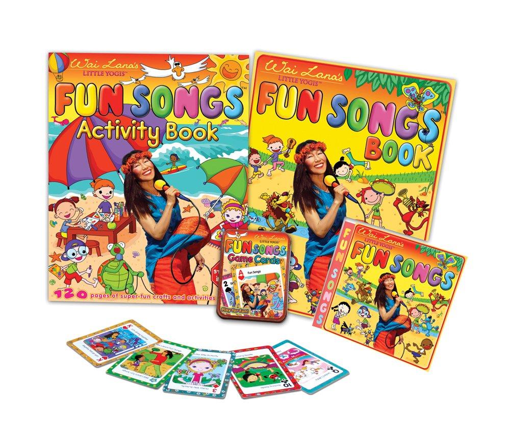 Wai Lana Little Yogis: Fun Songs Kit