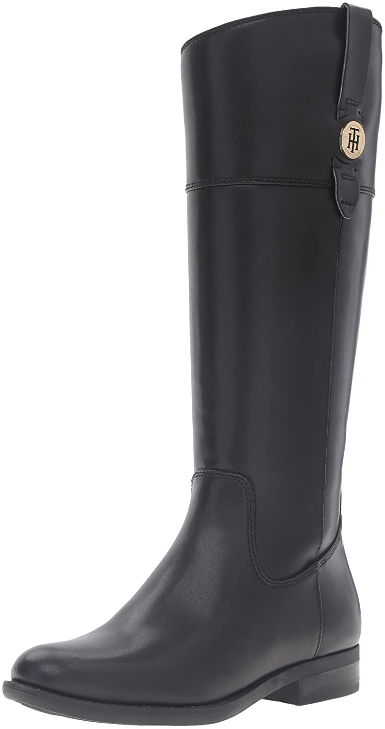 Tommy Hilfiger Women's Shano Riding Boot B01F9I5KNE 6.5 B(M) US|Black