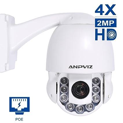 Cámara Domo PTZ Cámara Domo IP - 2MP Super HD Panorámica 4X Zoom óptico de Alta