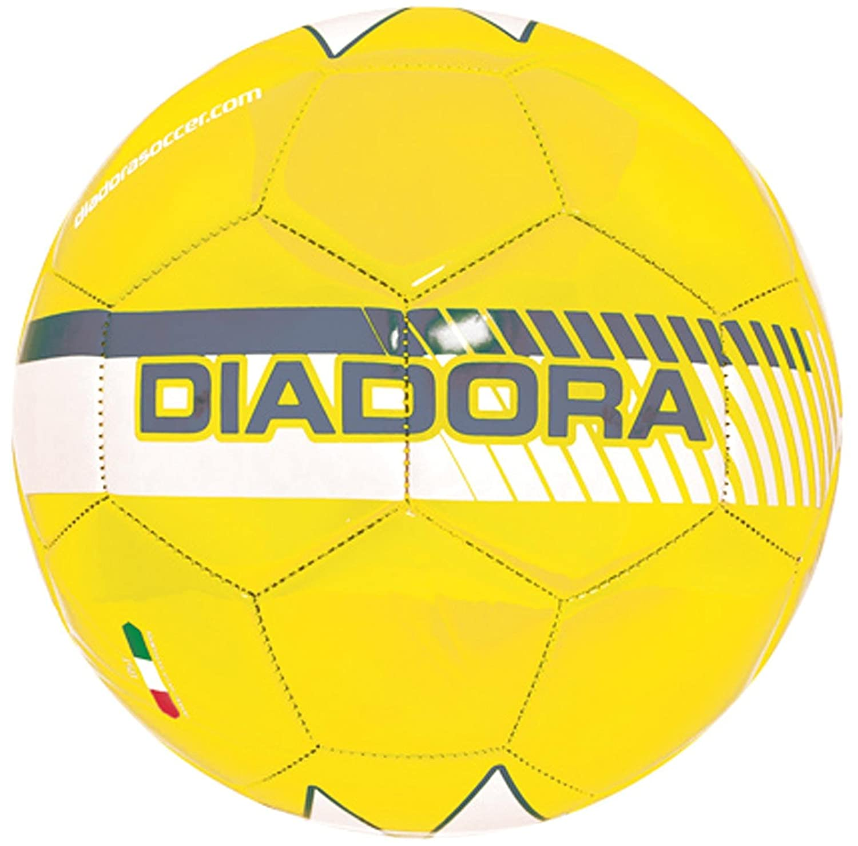 Diadora サッカーボール フルミネイト B00HH88DDY Size 4|イエロー イエロー Size 4