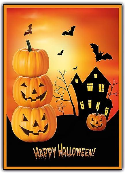 Halloween Tarjetas De Invitación Espeluznante Por Ejemplo