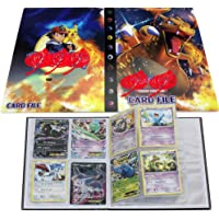 Pokemon Book for Cards Holder Album Binder for Cards Protection for Trading Cards GX EX Box(Charizard)