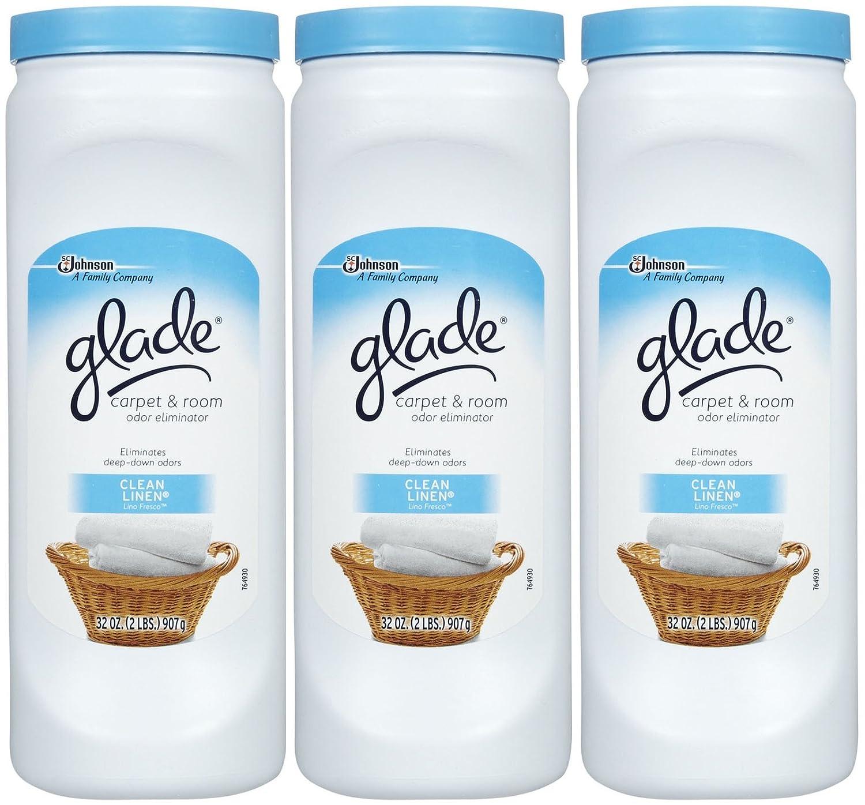 Amazon Com Glade Carpet Room Deodorizer Clean Linen 32 Oz 3