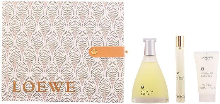 Loewe Agua Loewe - Agua de perfume, 3 piezas, 200 gr: Amazon.es: Belleza