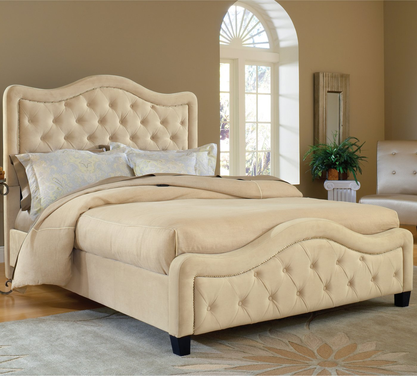 Amazon.com: Hillsdale Furniture 1638BQRT Trieste Bed Set with ...