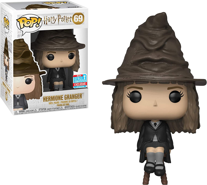 Funko Hermione Granger (2018 Fall con Exclusive): Harry Potter x Pop! Vinyl Figure & 1 Pet Plastic Graphical Protector Bundle [#069 / 34764]