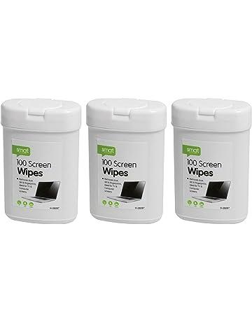 Toallitas húmedas para limpiar pantalla de ordenador portátil LED, LCD, TV, iPad,