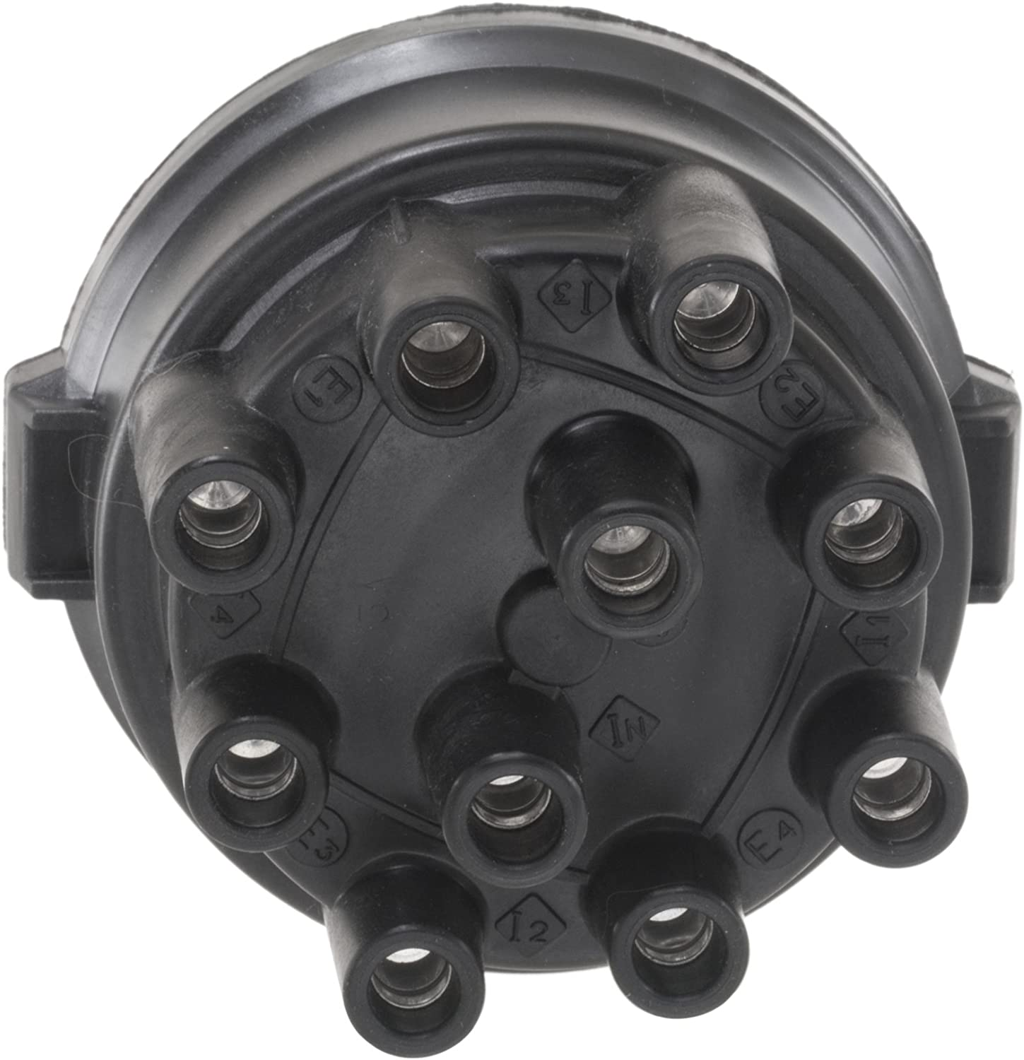 1 Pack WVE by NTK 3D1182 Distributor Cap and Rotor Kit