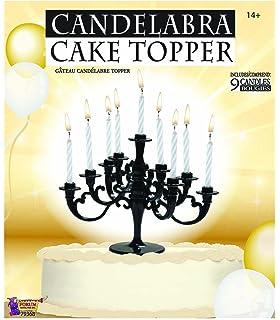 Faerynicethings Candelabra Cake Topper