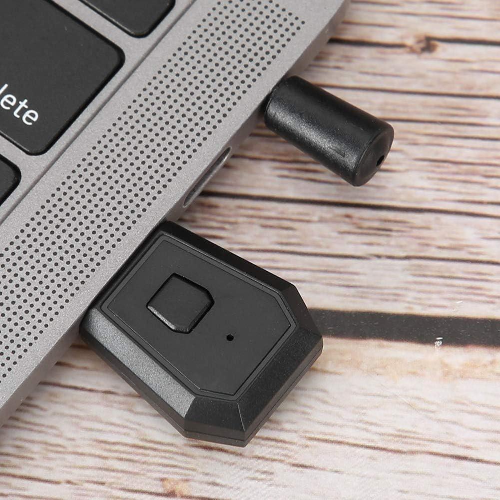 ASHATA Adattatore Bluetooth Wireless Trasmettitore Audio Bluetooth Universale Portatile Adattatore PC Ricevitore Auricolare Wireless per PS4//SLIM//PRO