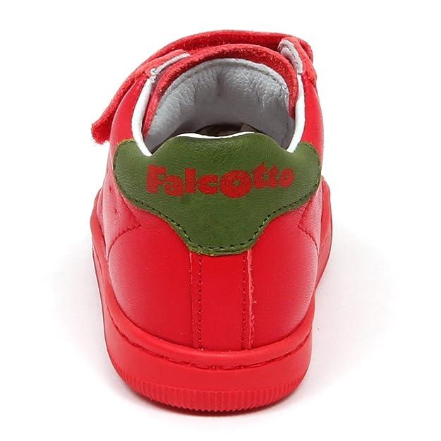 El Envío Libre De La Cantidad De Falcotto E3354 Sneaker Bimbo Rosso Scarpe Primi Passi Shoe Kid Baby Boy [19] Pago Con Visa De Salida WSsUrJn
