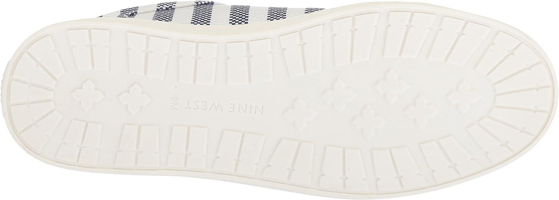 Nine West Womens PEREO Fabric Sneaker