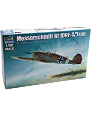 Trumpeter TR02293 1/32 Messerschmitt BF-109F4/Trop German Fighter Model Building Kit