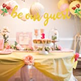 Be Our Guest Banner, Reception Banner Bachelorete