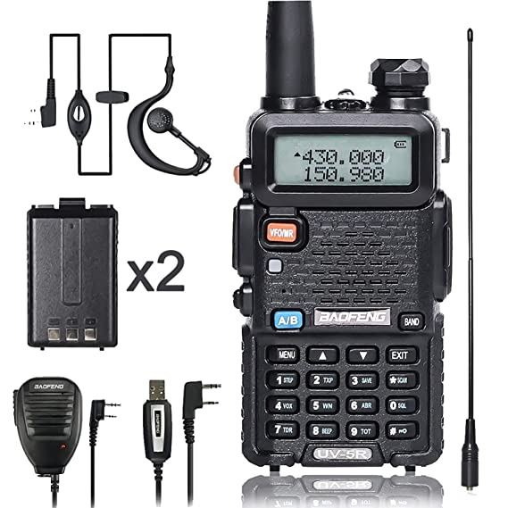 Amazon.com: Baofeng walkei Talkie UV-5R Dual Band Radio de ...