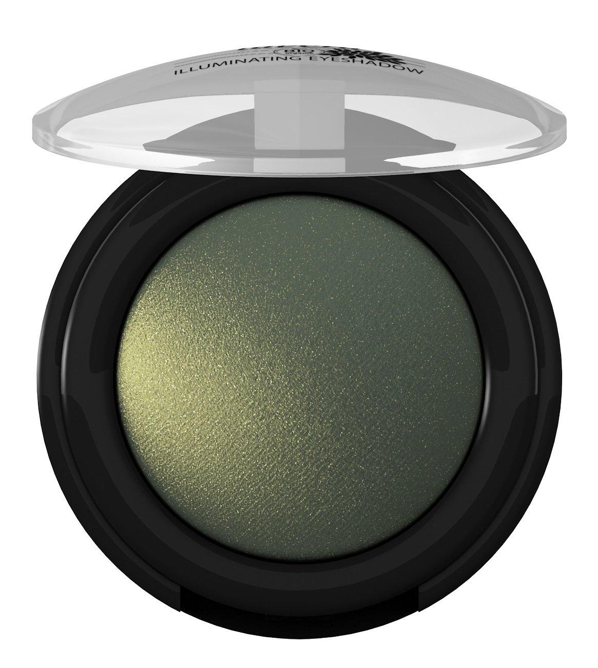 lavera Sombra ojos brillo -Electric Green 07- vegano - cosméticos naturales 100% certificados - maquillaje - 2 gr Laverana 61626