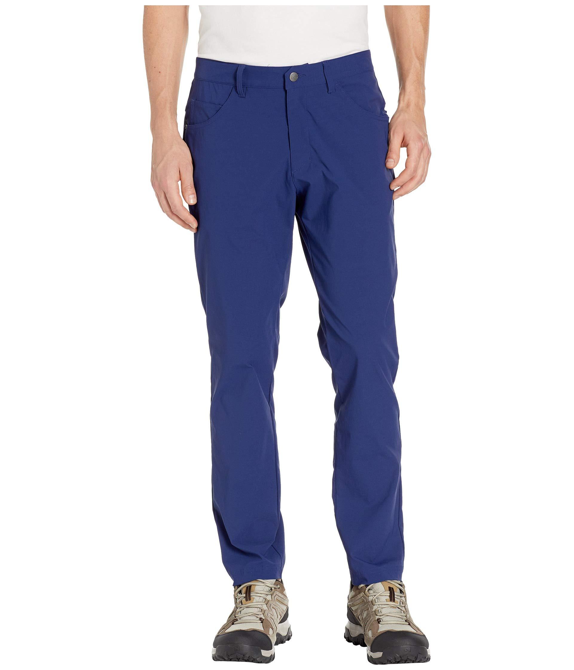 adidas Golf Adicross Beyond 18 Slim 5-Pocket Pant, Dark Blue, 3030