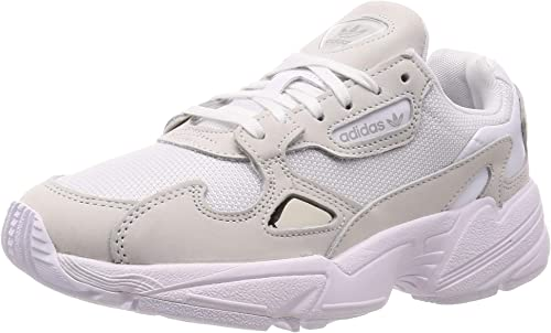 adidas Originals Women's Falcon Sneakers Leather White in Size US 7