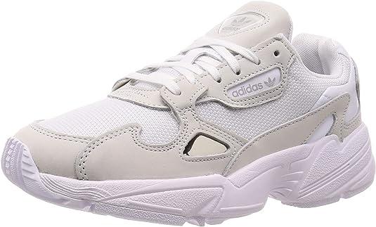 adidas Falcon W - Zapatillas para Mujer, Blanco, 38 EU: Amazon.es ...