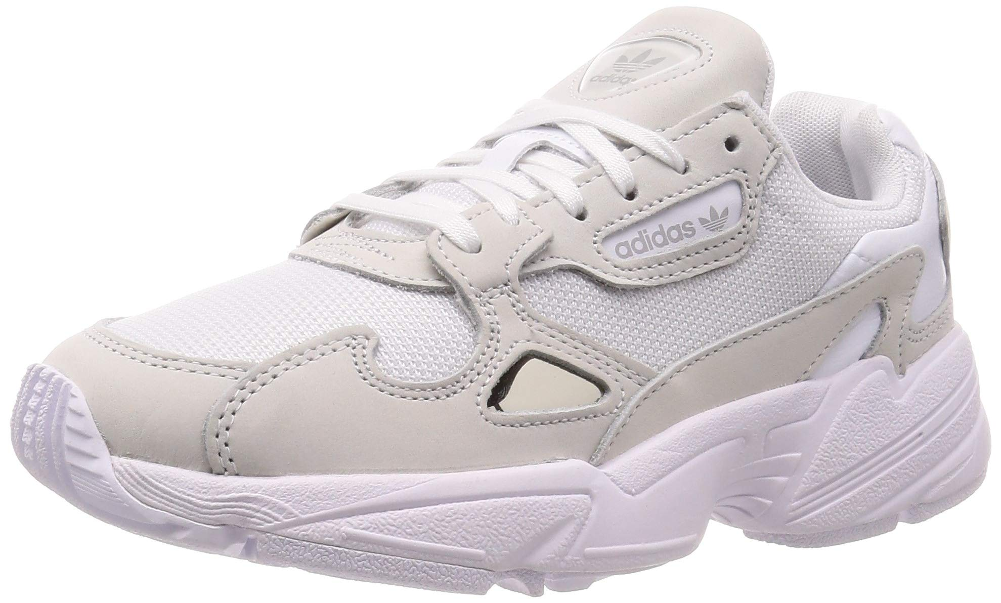 adidas Originals Women's Falcon Sneakers Leather White in Size US 7.5
