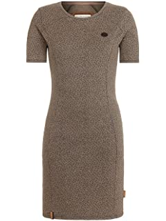 Naketano Kleid Detlef Caktir II Dress: : Bekleidung