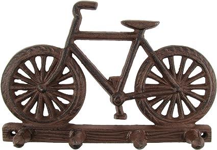 Metal soporte de pared bicicleta gancho accesorio de sombrero ...
