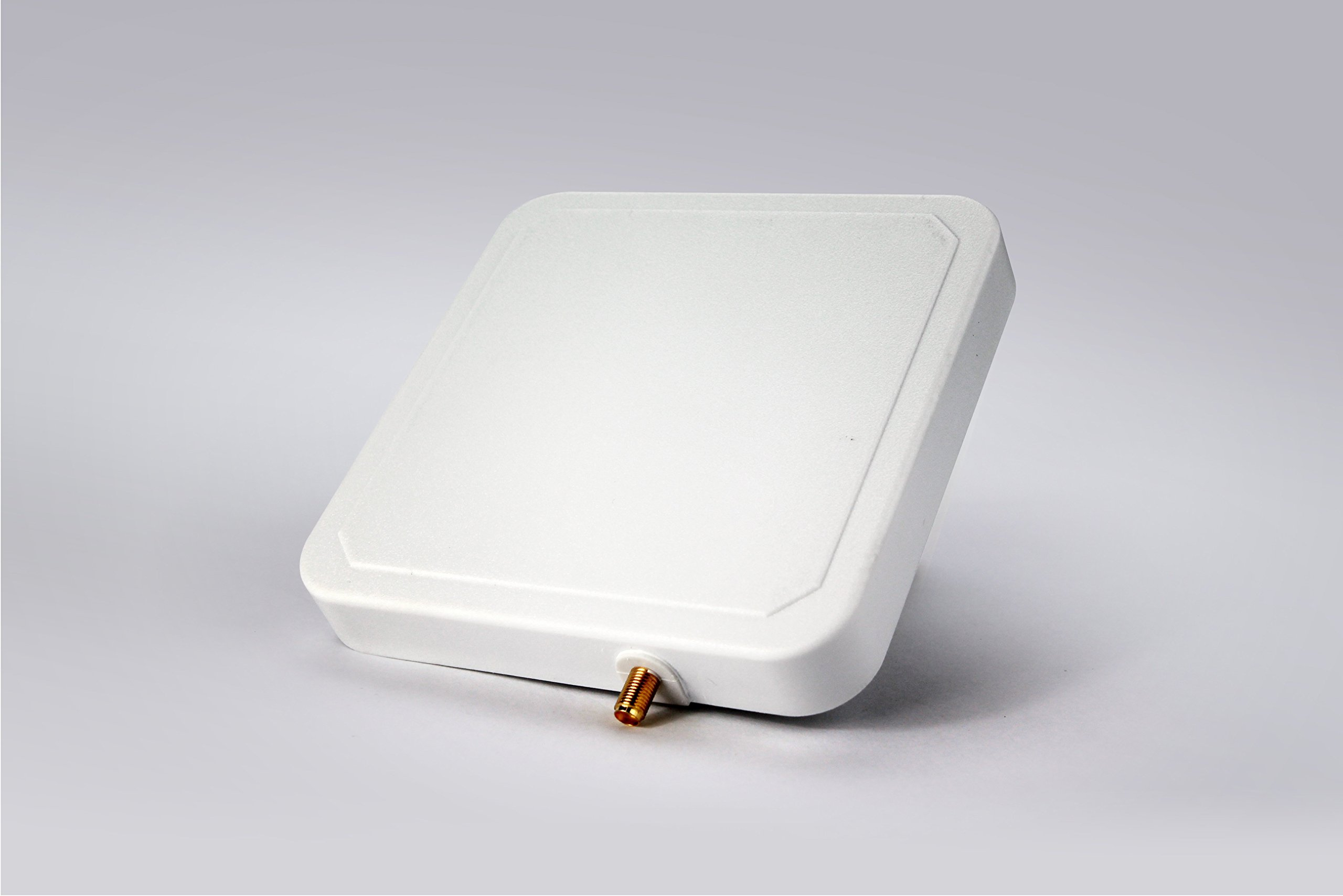 UHF RFID Reader Antenna, Bestga BSRA-02SR IP65 902-928MHz 6dBic Circular Rfid Antenna with SMA-50KFD Connector Suitable for Entrance Guard, Warehouse and Retail Item Management and etc by Bestga