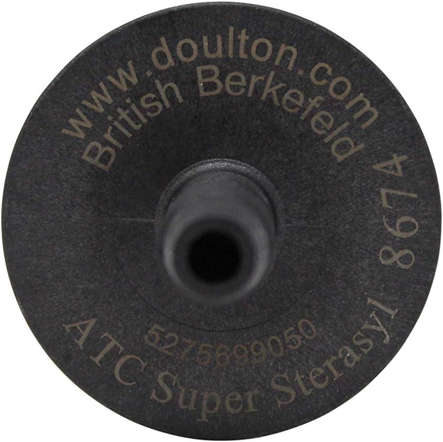 Sans Consommation dEnergie Sans Branchement British Berkefeld Acier Inoxydable Filtration dEau Par Gravit/é R/éservoir 8,5L avec 4 Cartouches ATC SuperSterasyl Purificateur dEau /à Gravit/é