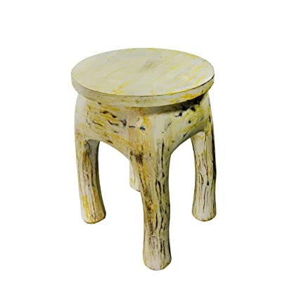 Handicrafts India Wooden Handicraft Beautiful 4 Leg Coffee Table