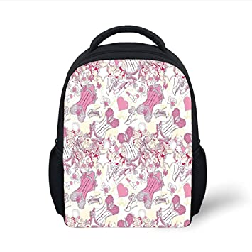 a7aed4826262 Amazon.com: iPrint Kids School Backpack Girls,Old Fashioned Female ...