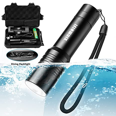 Review Xinmaisi LED Diving Flashlight