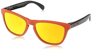 a7e9753100 Oakley Frogskins Lunettes de Soleil Mode homme Heritage Red/Fire Ird ...