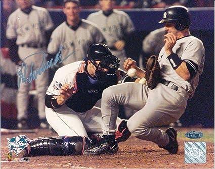 f70dc89d9a1 Signed Jorge Posada Photo - NY 2000 World Series 8x10 141075 ...