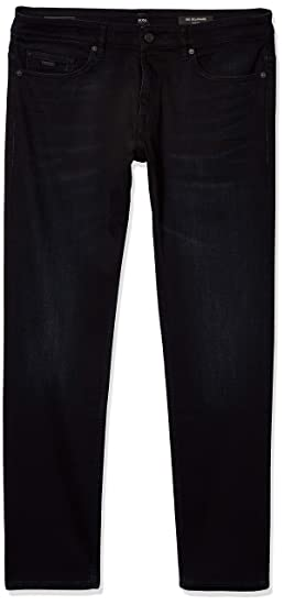 Hugo Boss Delaware3 50302746 002 Slim Fit Mens Jeans Black