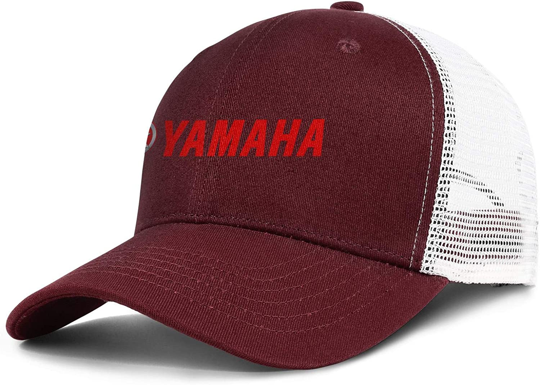 Snapback Vintage Mesh Hat All Cotton Trucker Cap Yamaha-Motorcycle