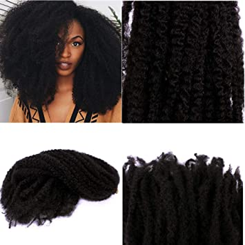 Amazon Afro Kinky Curly Twist Crochet Braids Hair Marley Braid