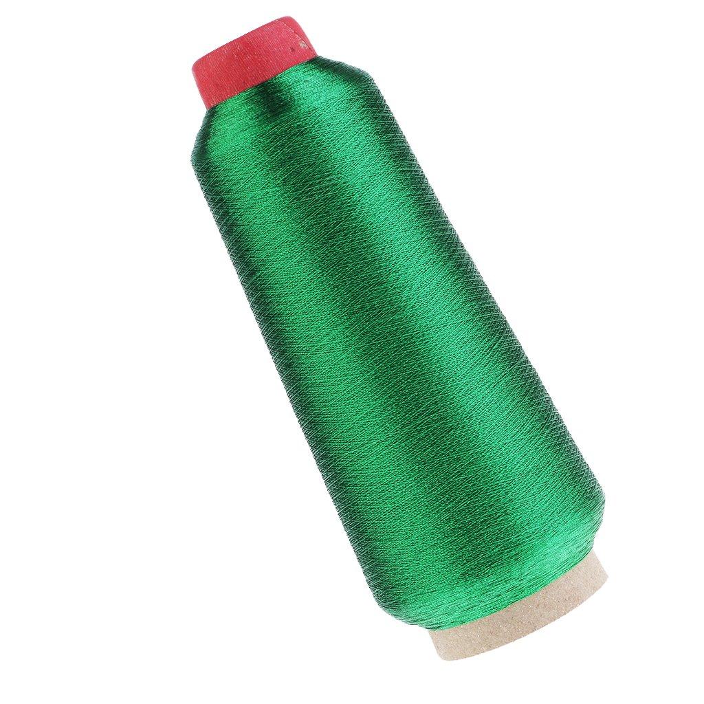 Sharplace 1 Pieza Carrete de Hilos Met/álicos Bordar M/áquina Coser Artesan/ías Cuero Costura Punto de Cruz Bordado Multicolor