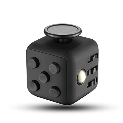 TopQPS Stress Relief Fidget Cube Calming Toy For Focus Relaxation Distraction And Improves
