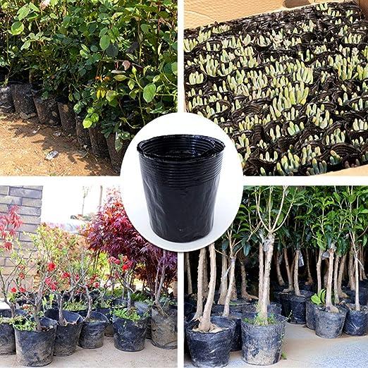 100 bolsas de semillas no tejidas, macetas para plantar, bolsas ...