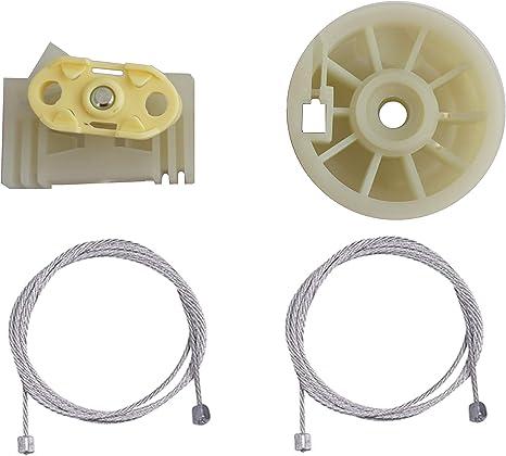 Arrière Droit pour Opel Meriva I A 2003-2010 Kit Réparation Lève-vitre