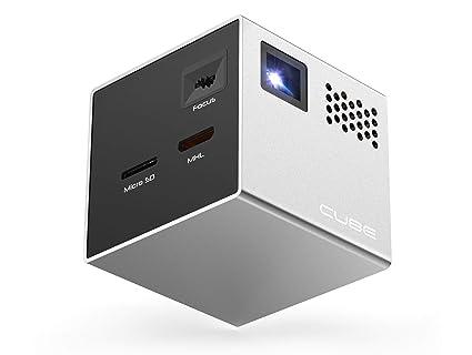 Mini proyector portátil RIF6 Cube Gris: Amazon.es: Electrónica