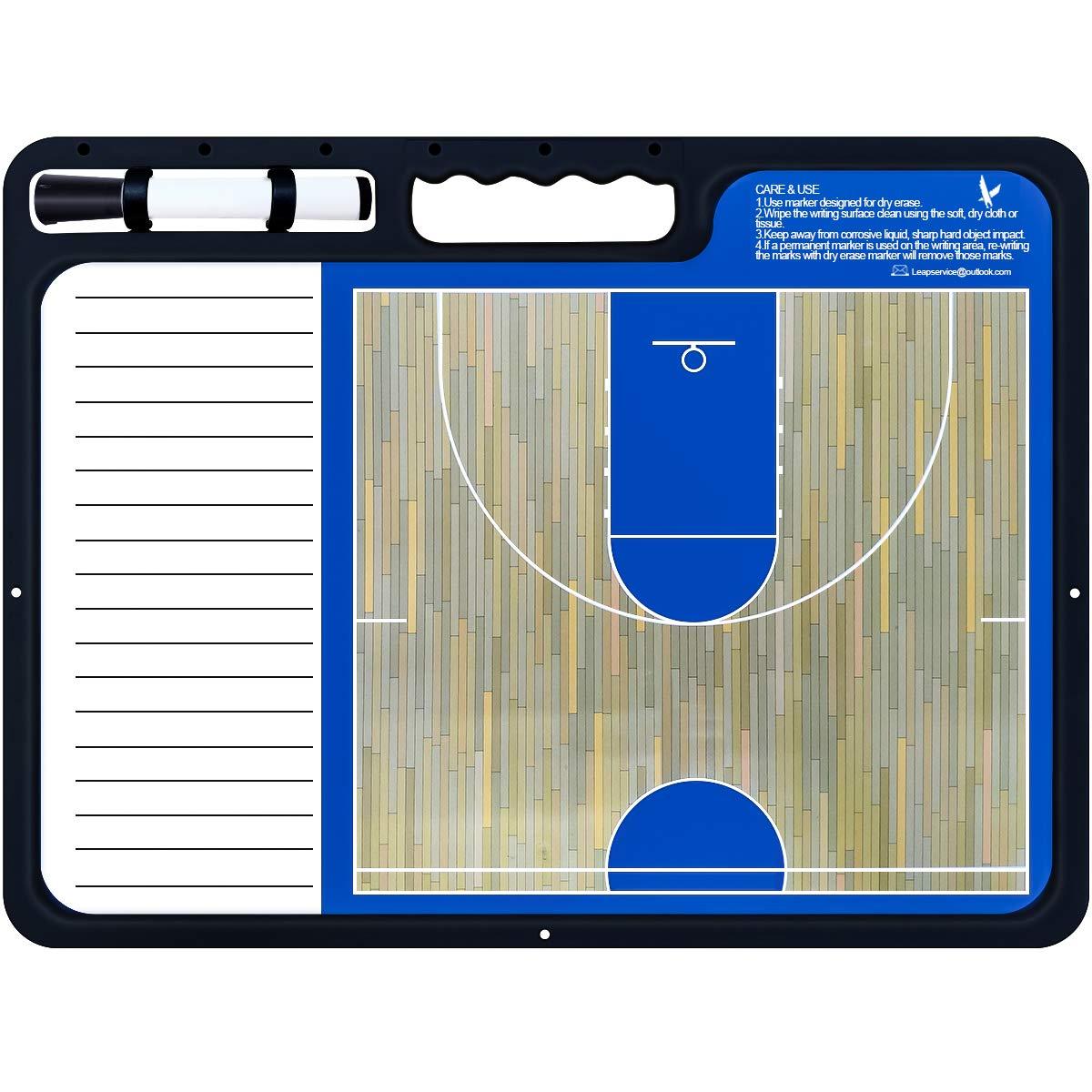 Amazon.com: LEAP Coach – Tabla de baloncesto táctica de ...