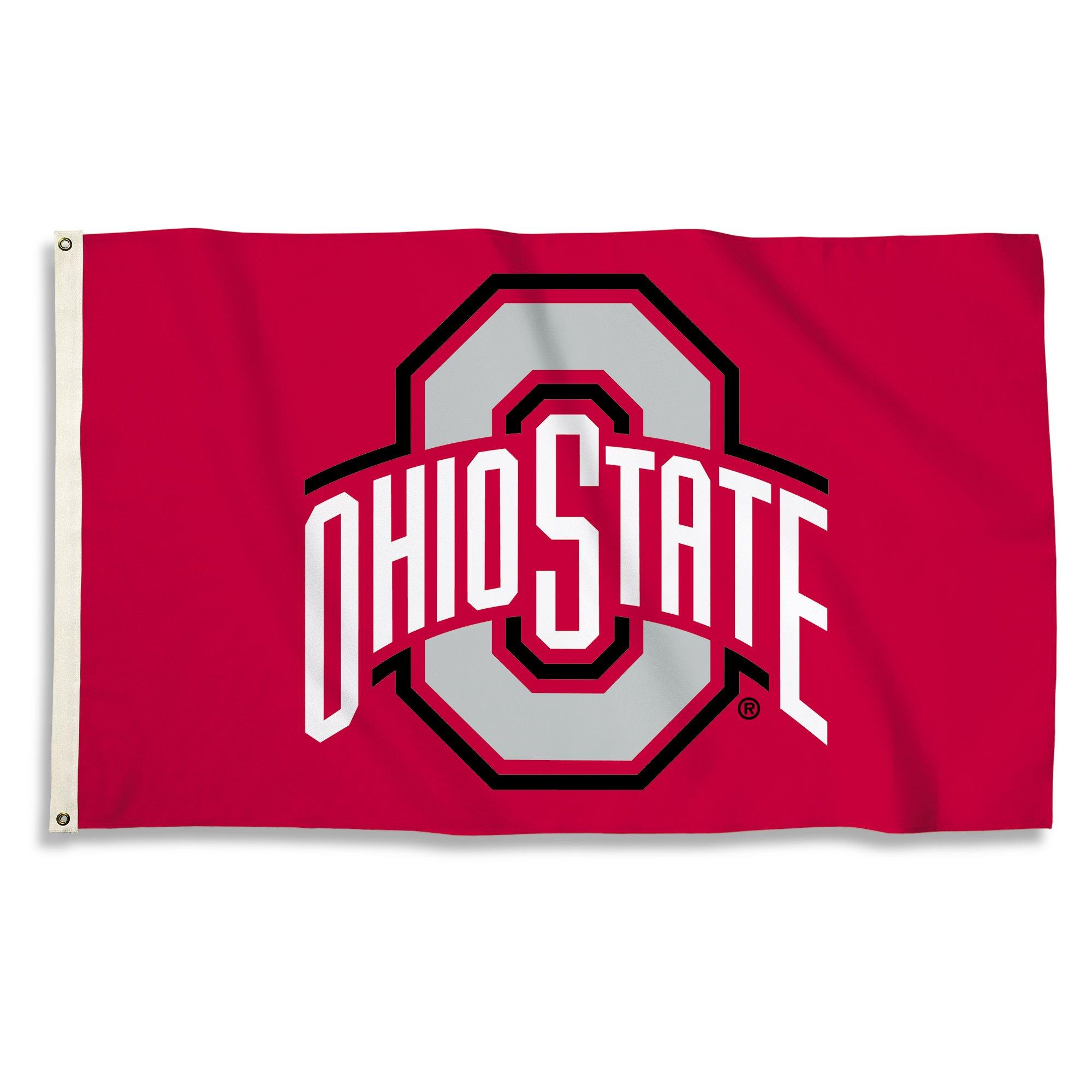 NCAA Ohio State Buckeyes 3 x 5-Feet Flag with