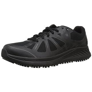 Shoes for Crews Men's Endurance II Slip Resistant Food Service Work Sneaker, Black, 9 Medium US