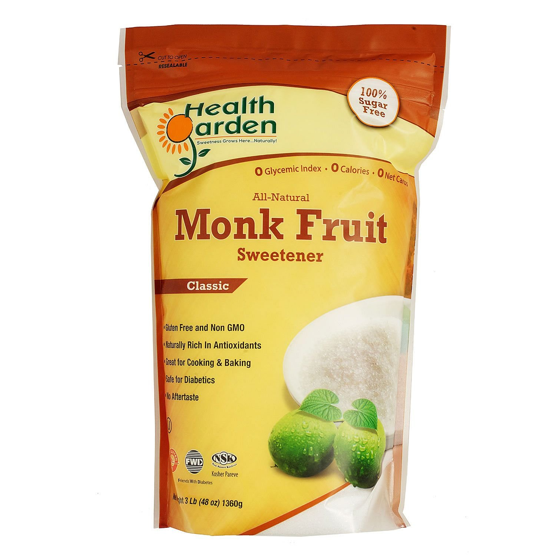 Health Garden Monk Fruit Classic Sweetener, 1 Pound