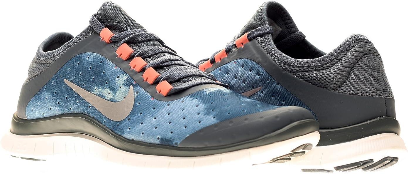 líquido occidental Maletín  Nike Free 3.0 v5 EXT Womens Running Shoes 579828-401 Armory Slate ...